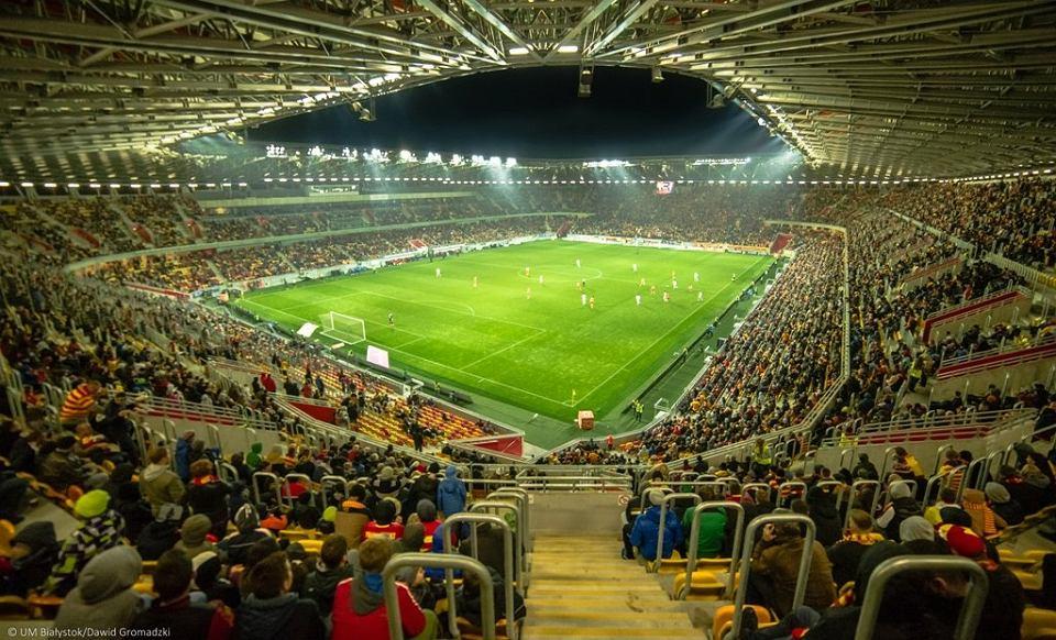 Białystok. Stadion Miejski przy Słonecznej