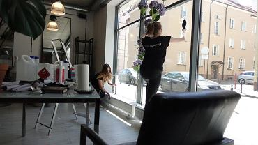 Salon Fryzjerski Przybyszewski przy Synagogalnej 4/4 prawie już w gotowości