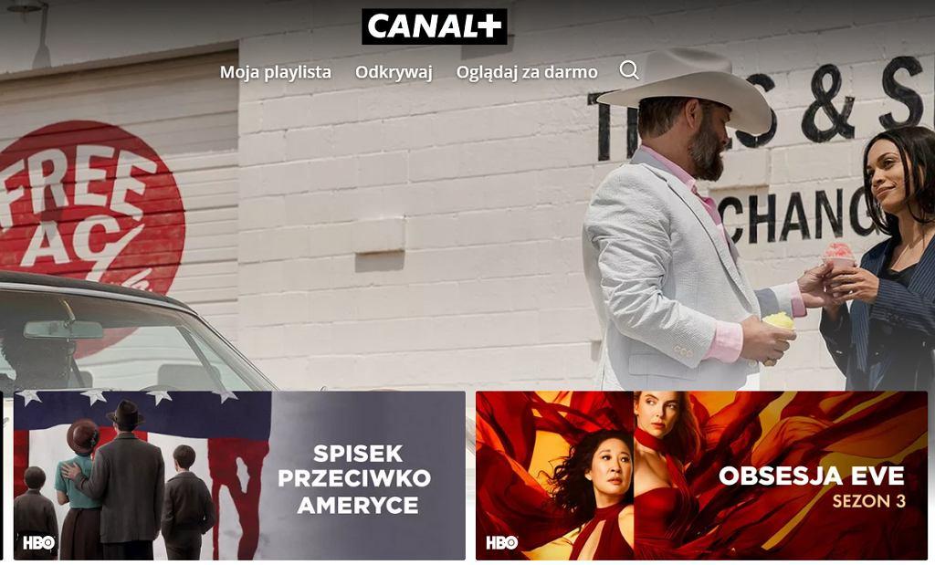 Canal+ przez internet