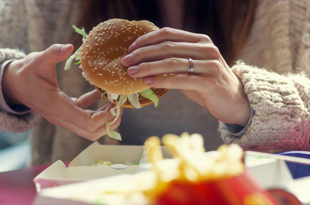 Burger z McDonald's