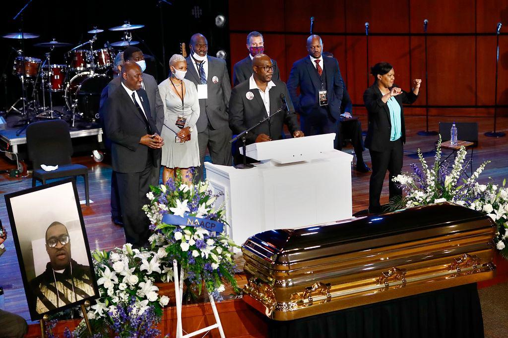 Ceremonia pożegnalna George'a Floyda