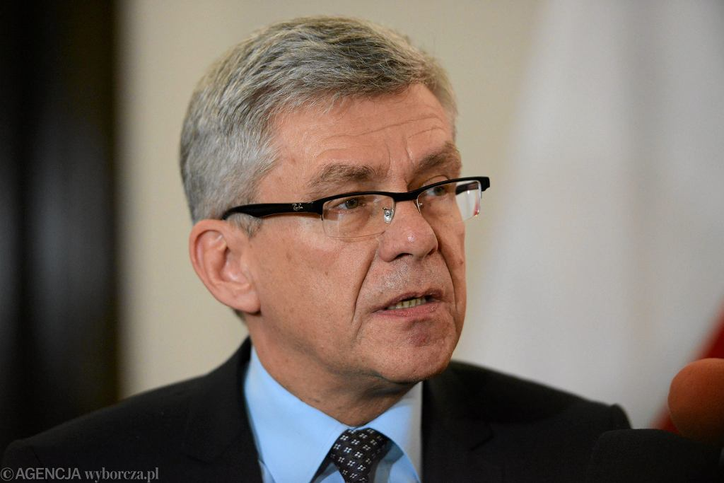 Marszałek Senatu Stanisław Karczewski