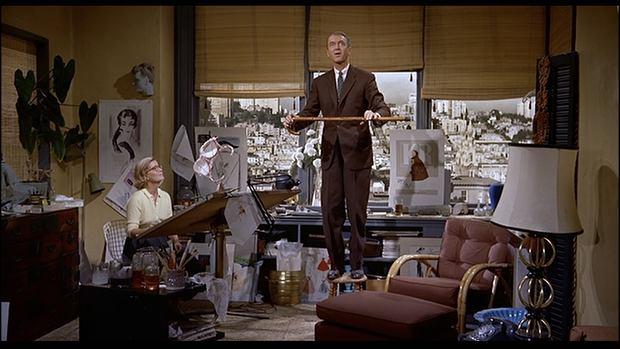Kadr z filmu 'Zawrót głowy'