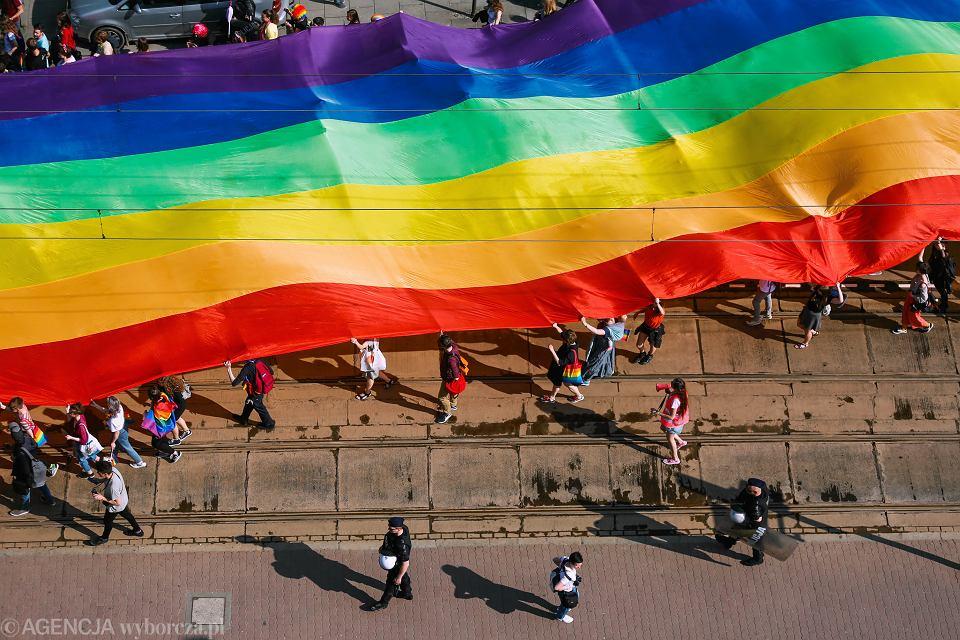 Marsz równości w Krakowie, 18 maja 2019