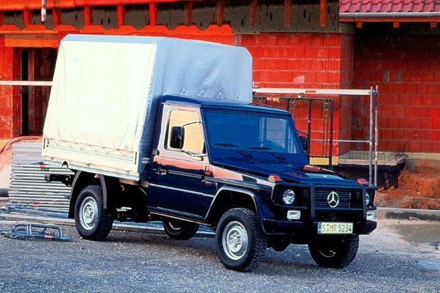 Mercedes G podwozie do zabudowy