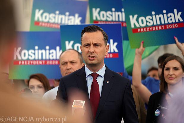 Kandydat na Prezydenta RP Władysław Kosiniak-Kamysz