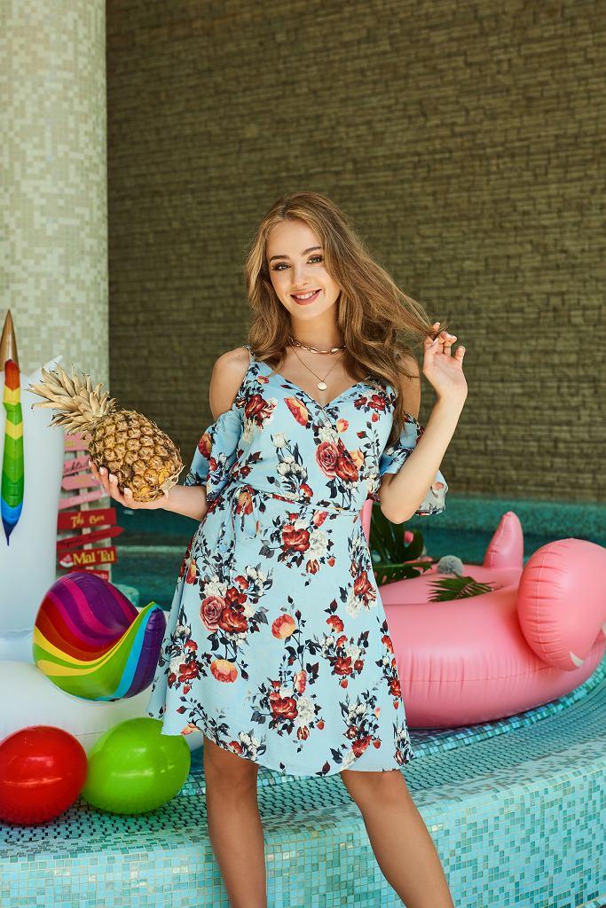 Wiktoria Gąsiewska w sukience Sugarfree