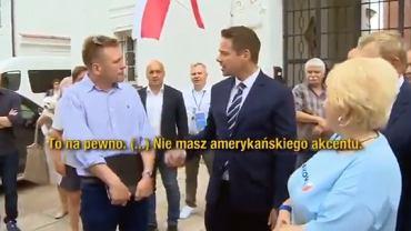 Rafał Trzaskowski w Supraślu