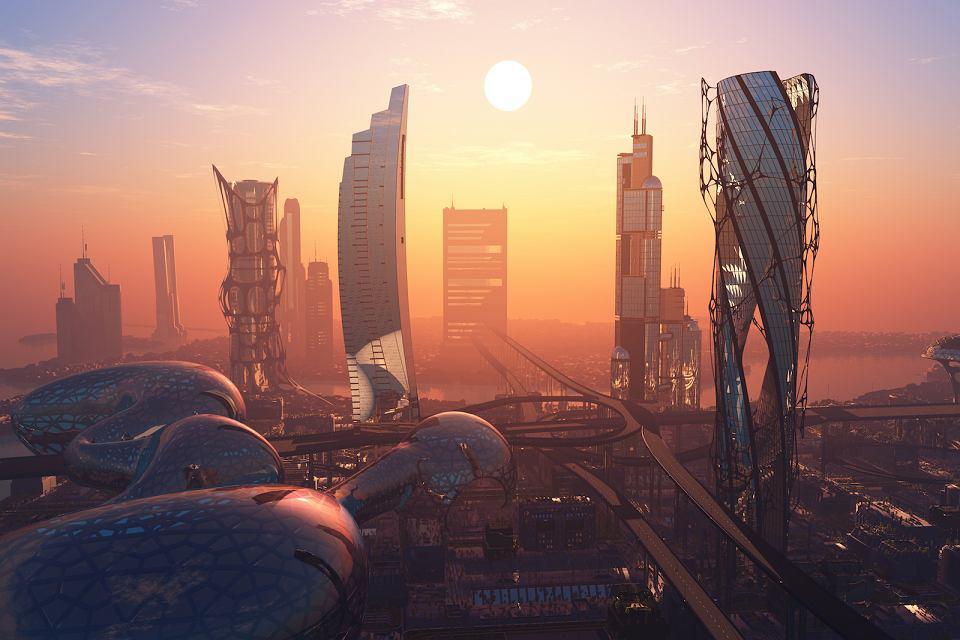 Miejska architektura przyszłości.