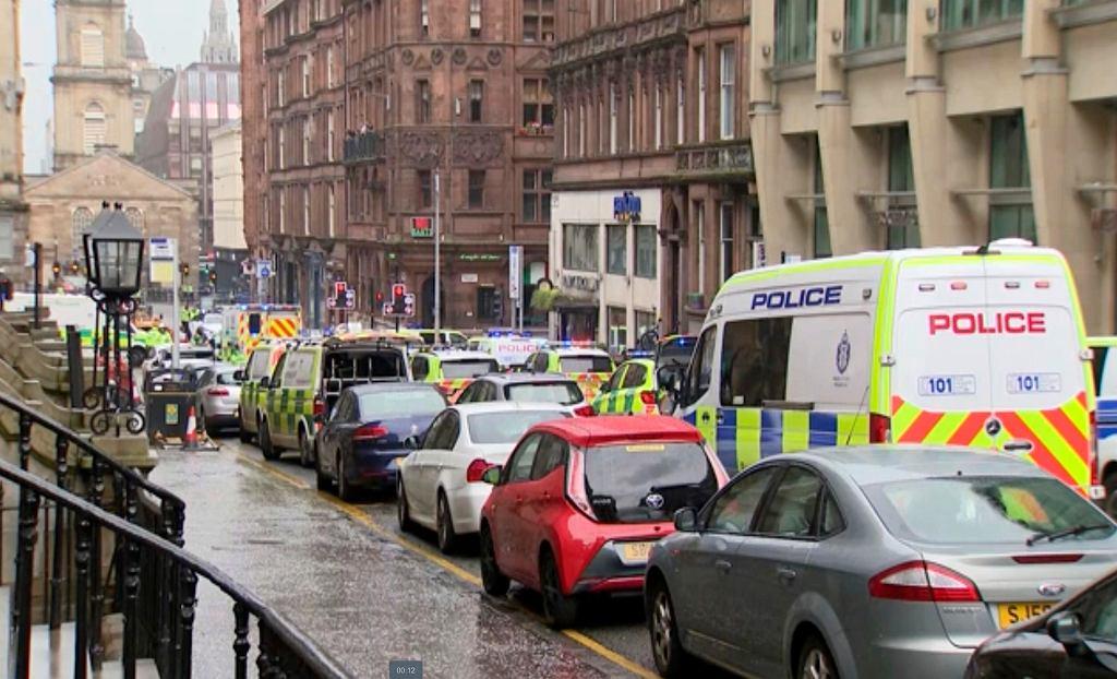 Atak nożownika w Glasgow