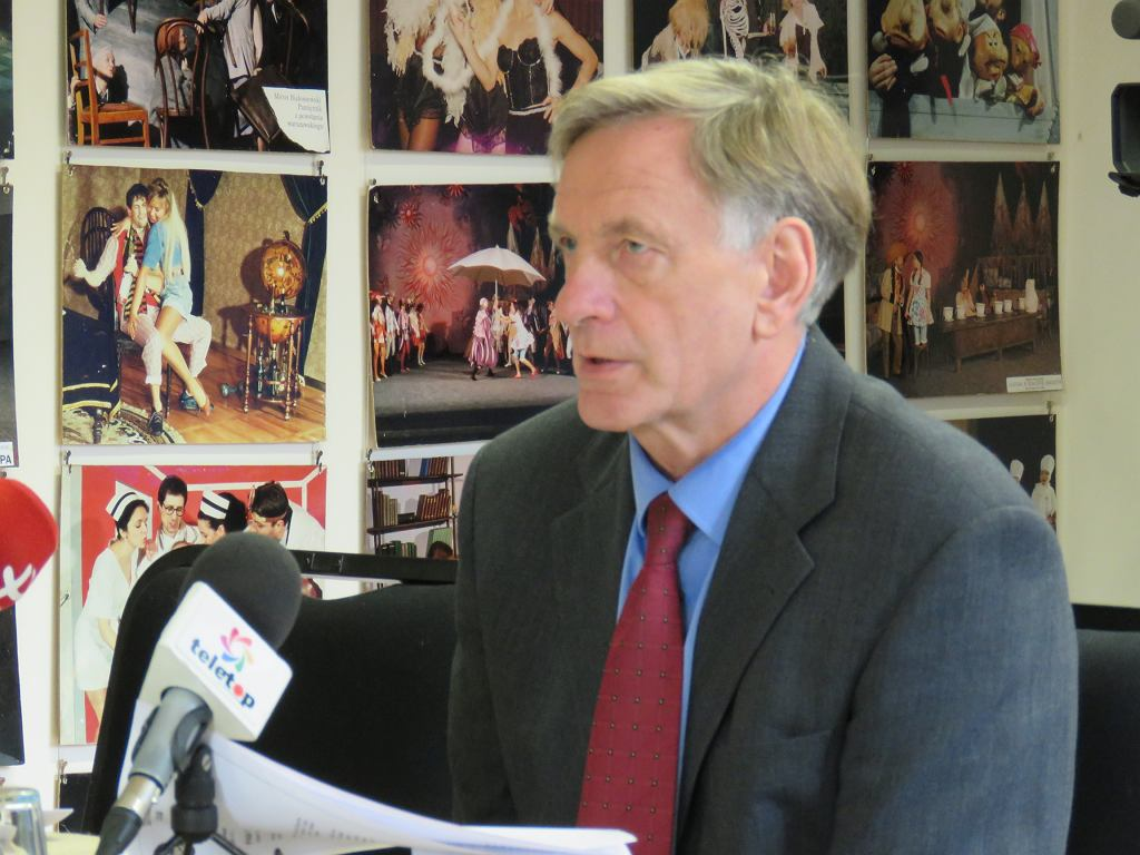 Jan Tomaszewicz, dyrektor Teatru im. J. Osterwy prezentuje program XXXV GST