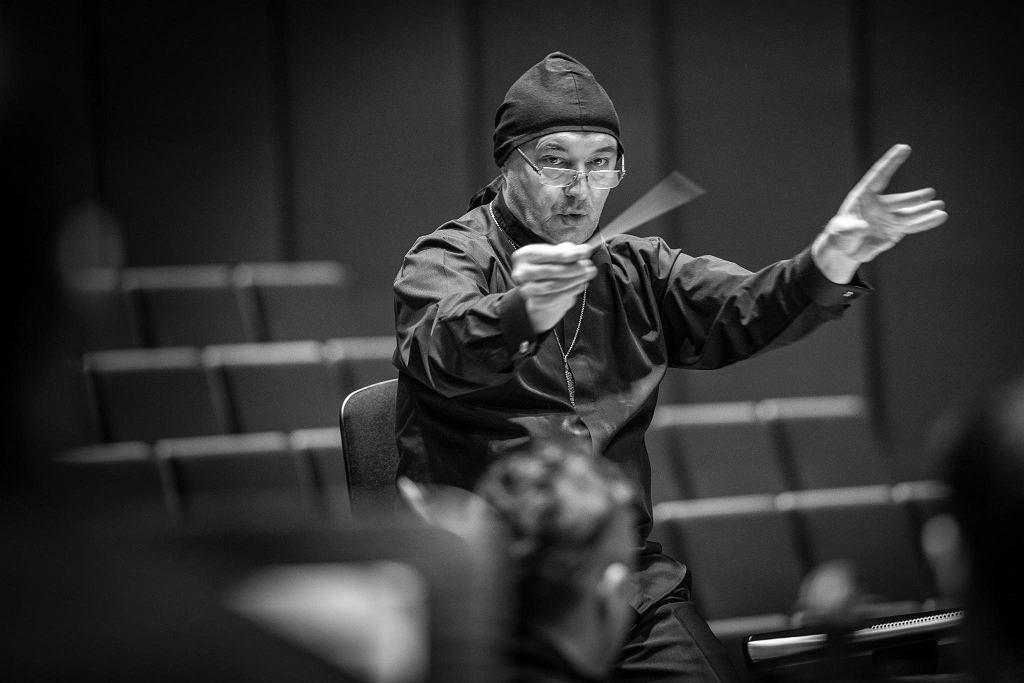 Marek Moś, dyrygent AUKSO / DOROTA KOPERSKA