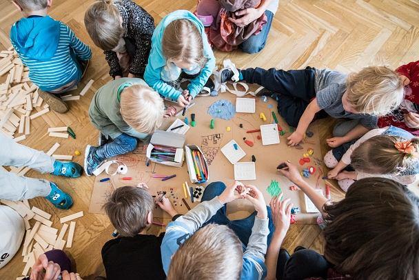 Warsztaty dla dzieci Muzeum nad Wisłą / materiały promocyjne