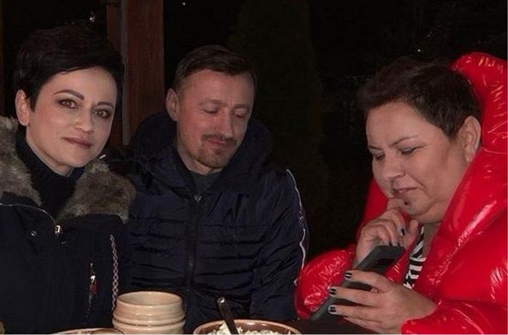 Iza, Adam Małysz, Dorota Wellman