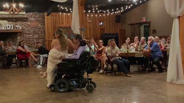 Wzruszający taniec panny młodej i jej ojca