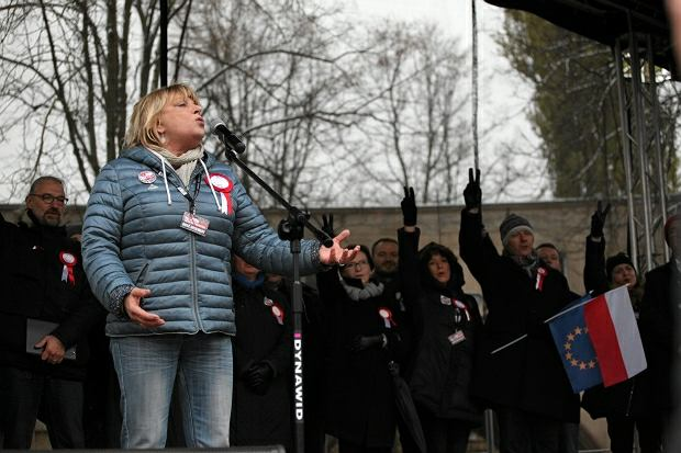 Marsz KOD, Dorota Stalińska