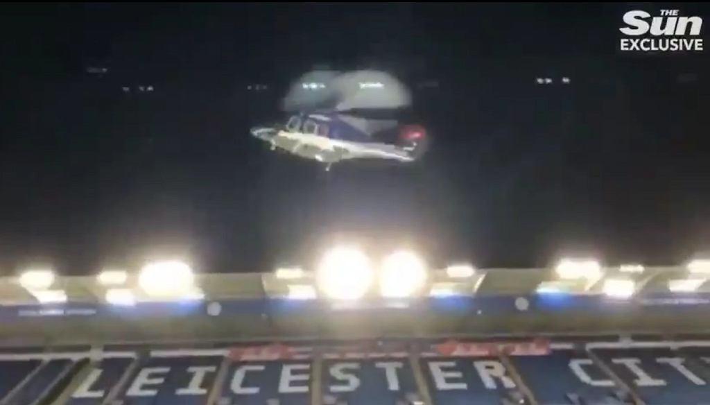 Katastrofa śmigłowca w Leicester