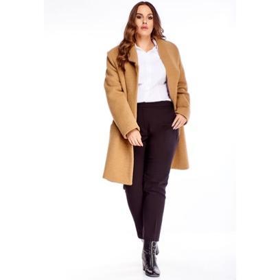 Płaszcz o długości przed kolano