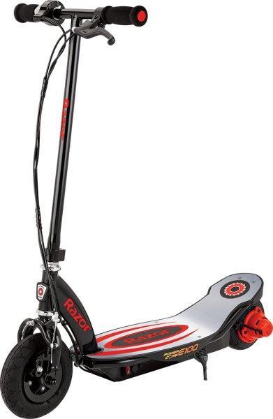 Razor, Hulajnoga elektryczna, E100 Power Core, czerwony