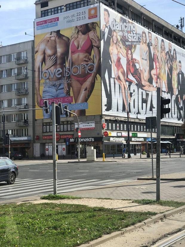 Love Island, billboard w Warszawie