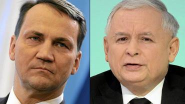 Radosław Sikorski, Jarosław Kaczyński