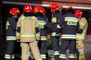 Wielkopolska. Pożar w Międzychodzie. Trzem osobom nie udało się uciec z płonącego budynku