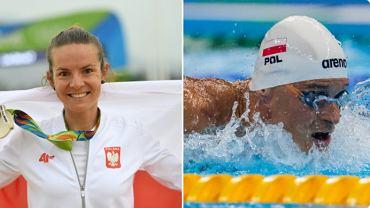Maja Włoszczowska i Paweł Korzeniowski