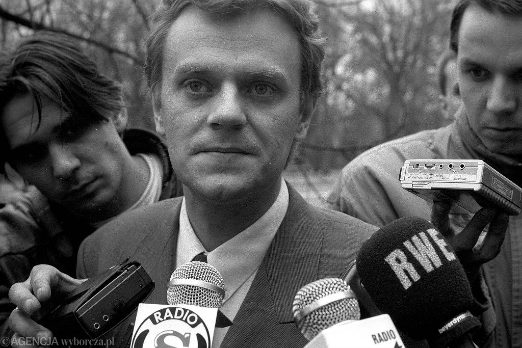 Donald Tusk w 1992 roku