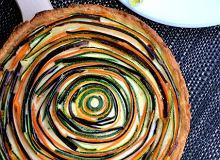 Tarta z cukinią i bakłażanem - ugotuj