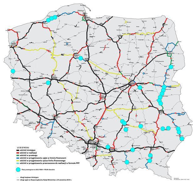 Plan przetargów drogowych na rok 2021