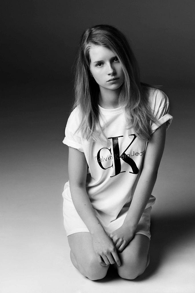Lotte Moss dla Calvin Klein