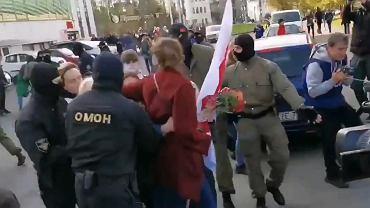 Zatrzymania w Mińsku