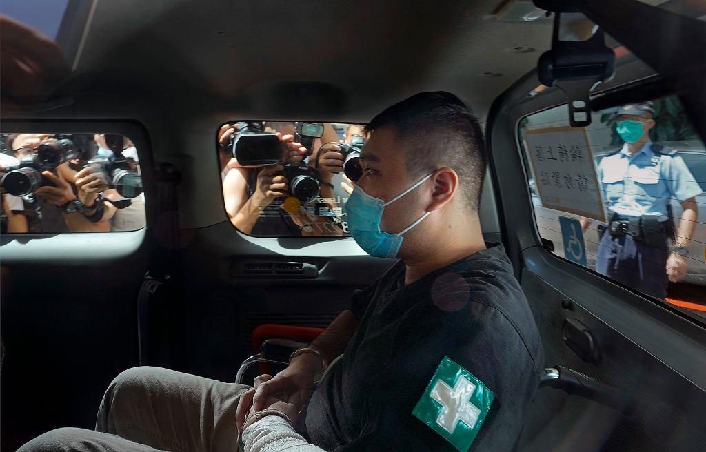 Skazany na podstawie ustawy o bezpieczeństwie narodowym Tong Ying-kit