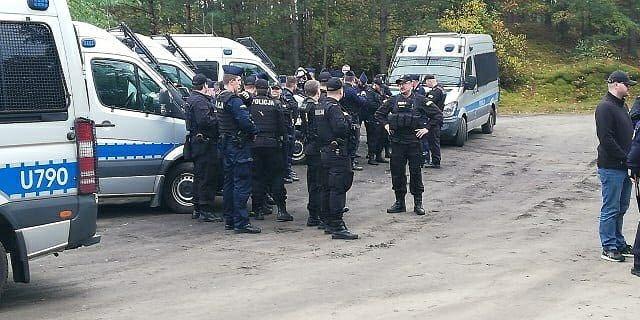 Wielkopolska. Policja zakończyła obławę.