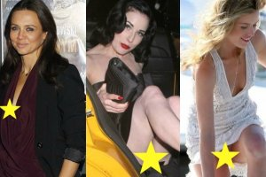 Georgia May Jagger, Kinga Rusin, Dita Von Teese