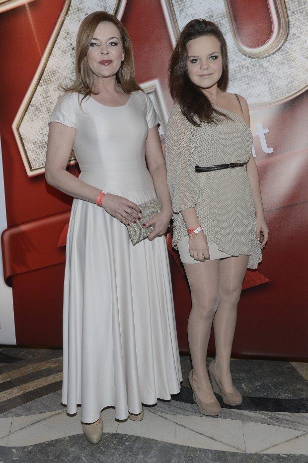 Beata Kawka z córką Zuzanną