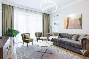 Apartament na Mokotowie - design w eleganckich wnętrzach