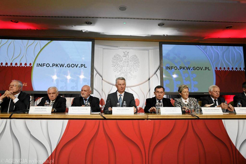 Konferencja Państwowej Komisji Wyborczej