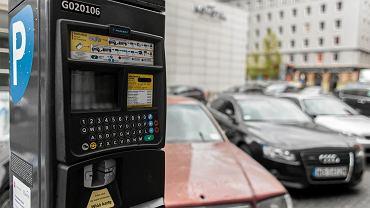 Parkomat w Warszawie