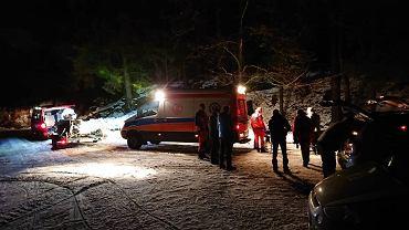 24-latek zmarł w Beskidach. Przyczyny zgonu nieznane