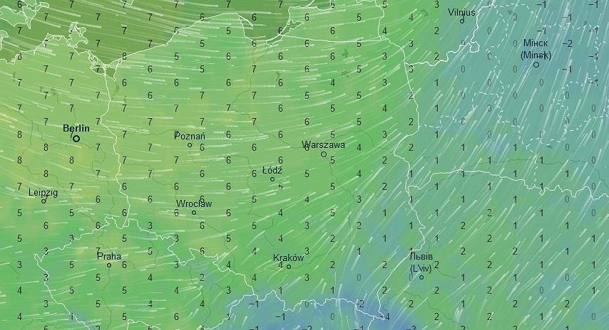 Temperatura, 1 stycznia