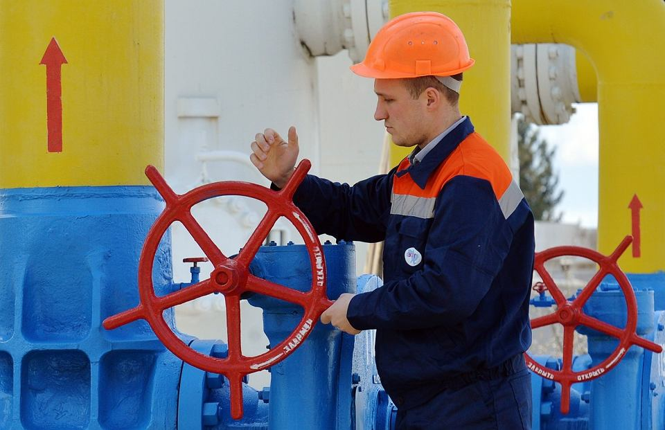 Tranzyt gazu przez Ukrainę na Zachód zmalał.