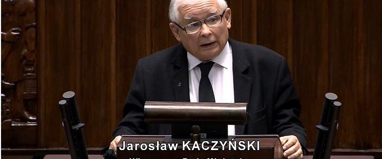 """Kaczyński do opozycji. """"Rozwalacie Polskę, jesteście przestępcami!"""""""
