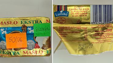 Ostrzeżenie GIS: W partii masła wykryto bakterie Salmonella