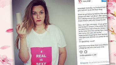 'Mąż nie opiekuje się naszymi dziećmi'.