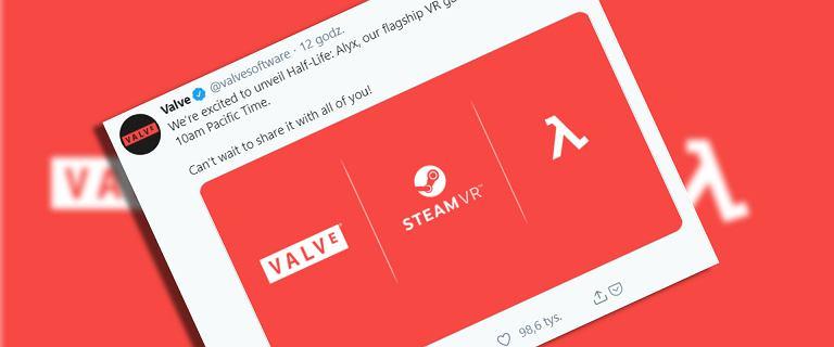 Valve potwierdza: Half-Life Alyx powstaje. Gra będzie bazowała na VR