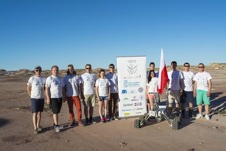 Łazik marsjański Legendary Rover Team