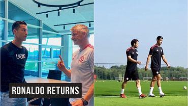 Cristiano Ronaldo wrócił do Manchesteru