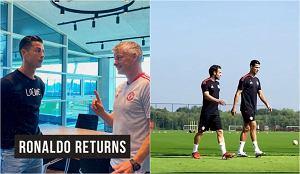 Ronaldo już trenuje z Man United. Opuścił kadrę Portugalii przed meczem el. MŚ. Kiedy debiut?