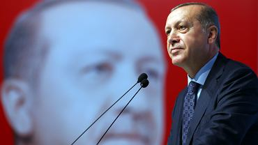 Turecki przywódca Recep Tayyip Erdogan